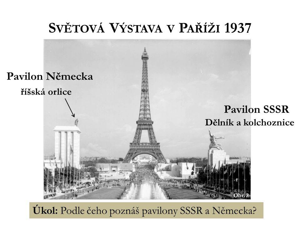 Světová Výstava v Paříži 1937