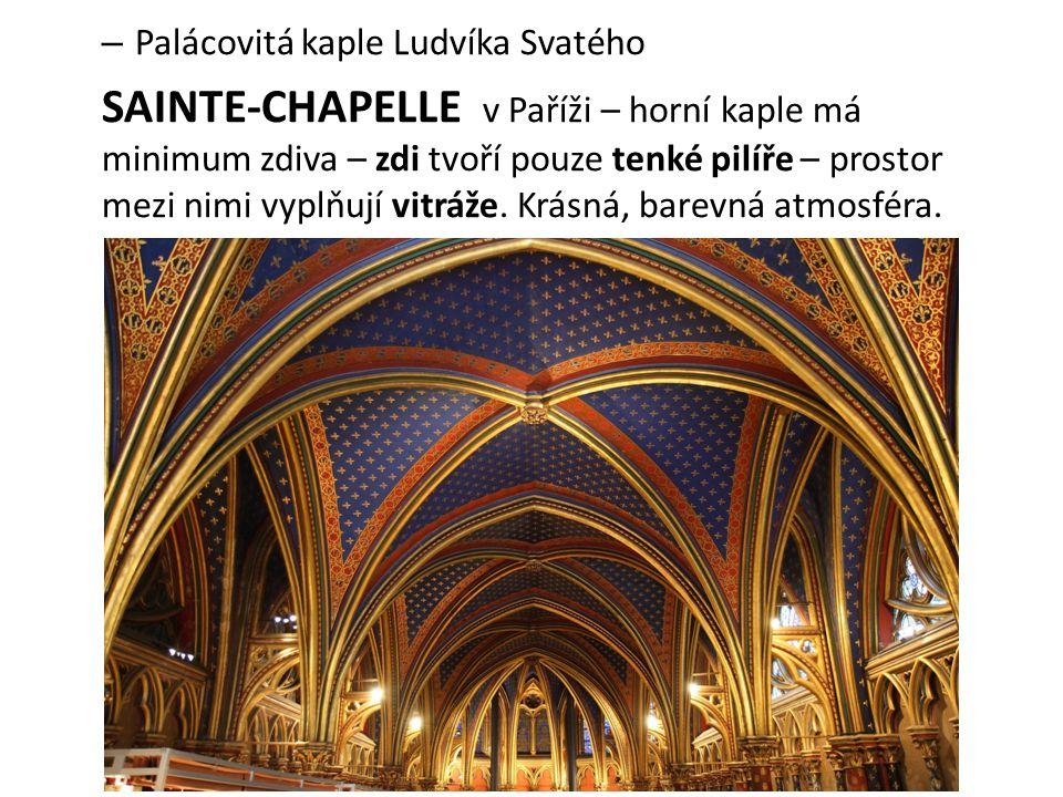 Palácovitá kaple Ludvíka Svatého