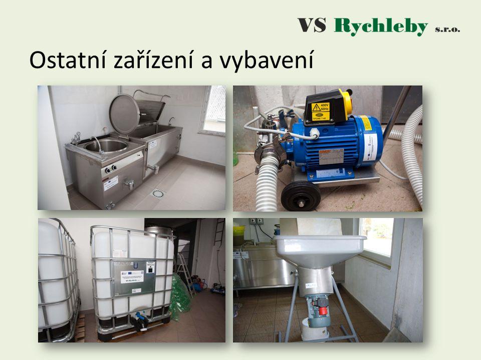 Ostatní zařízení a vybavení
