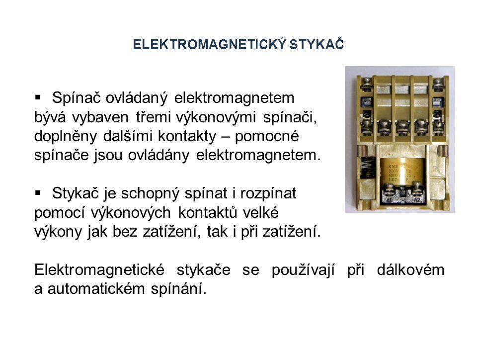 Elektromagnetický stykač