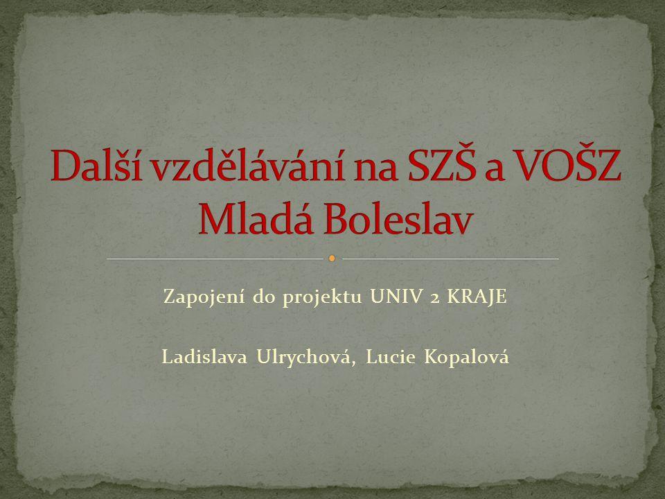 Další vzdělávání na SZŠ a VOŠZ Mladá Boleslav