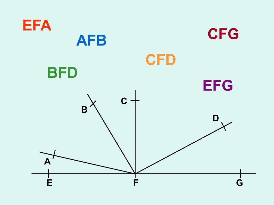 EFA CFG AFB CFD BFD EFG C B D A E F G