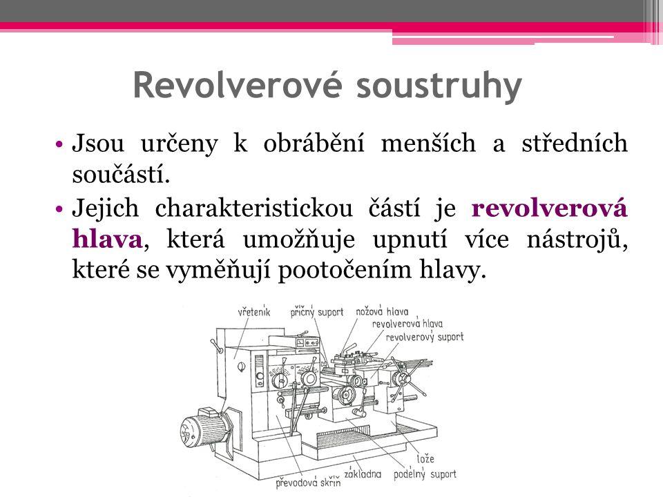 Revolverové soustruhy
