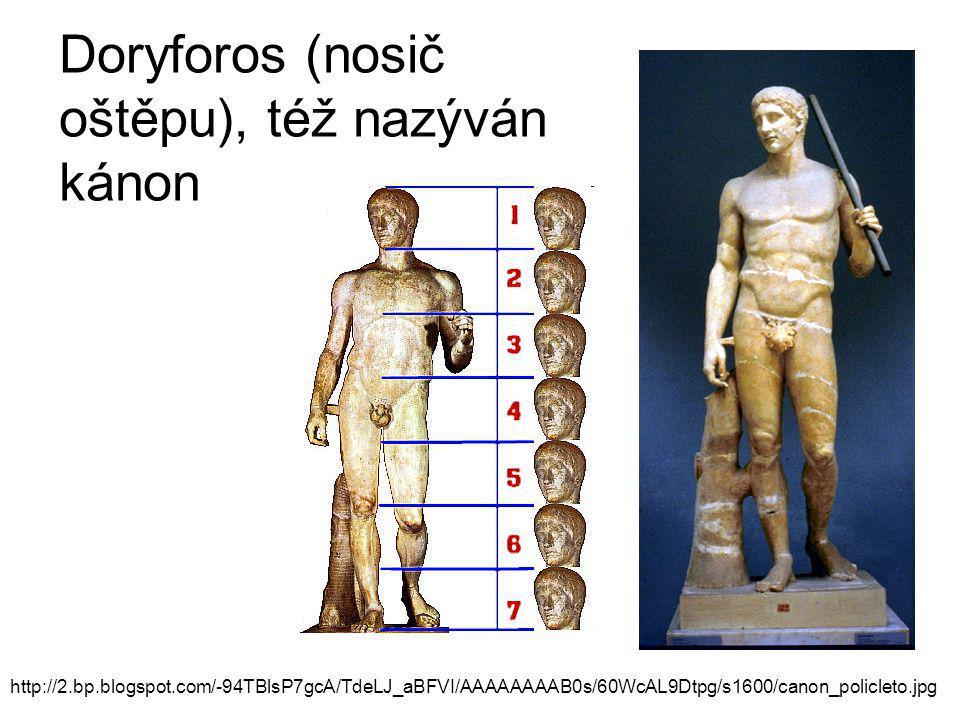 Doryforos (nosič oštěpu), též nazýván kánon