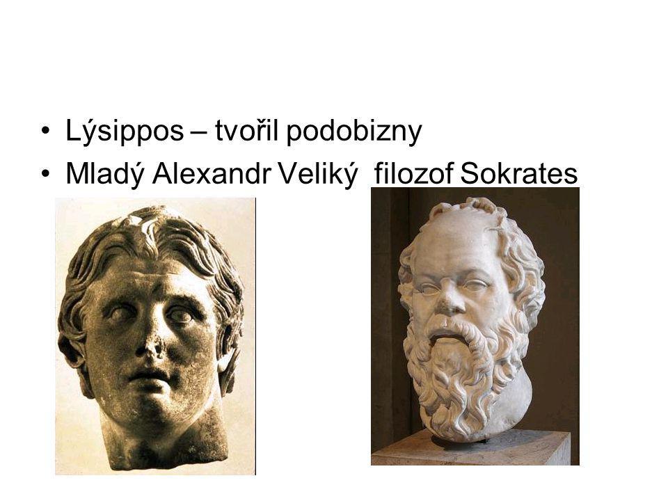 Lýsippos – tvořil podobizny