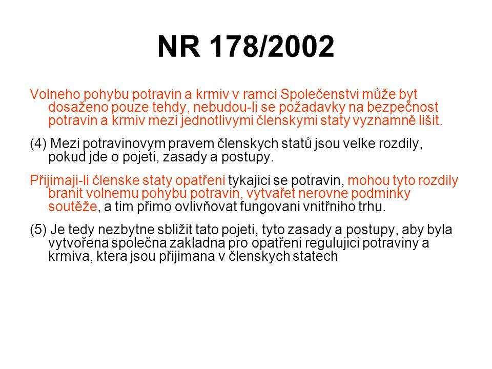 NR 178/2002