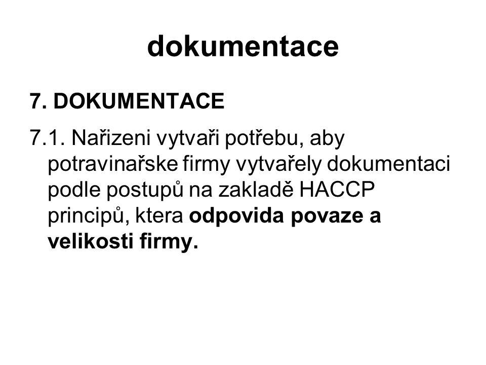 dokumentace 7. DOKUMENTACE