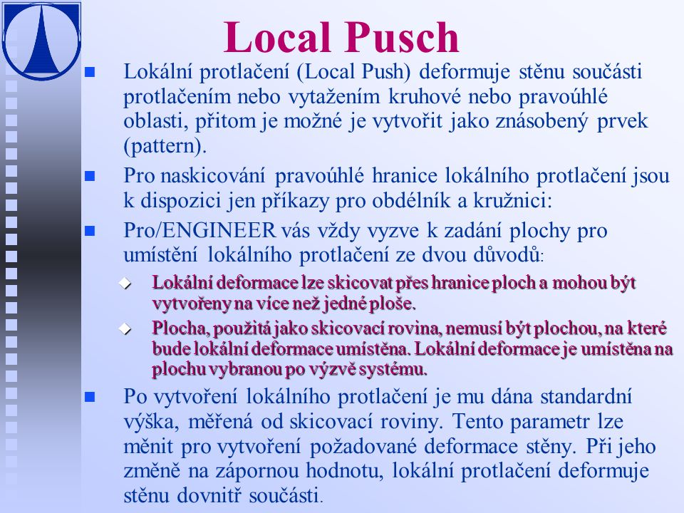 Local Pusch