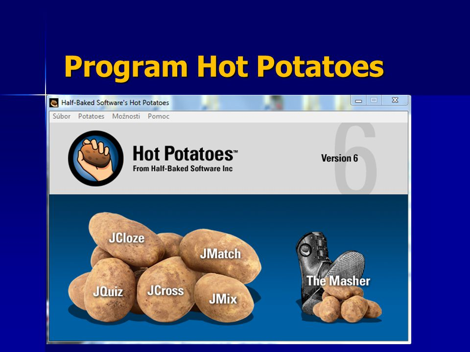Program Hot Potatoes