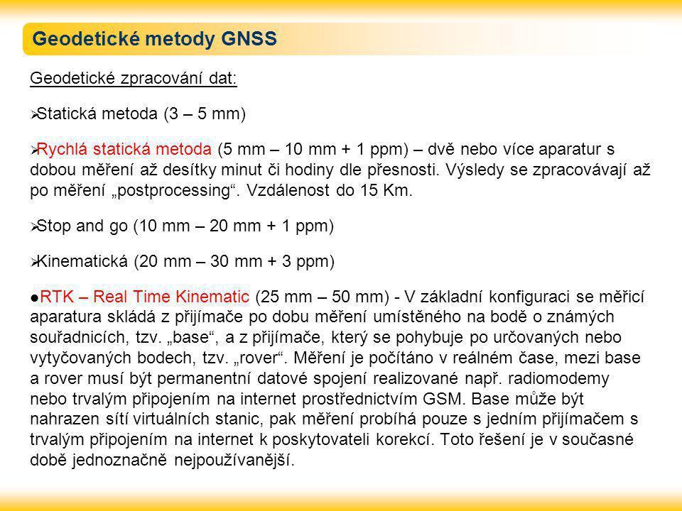 Geodetické metody GNSS
