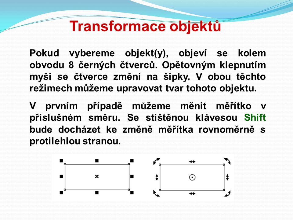 Transformace objektů