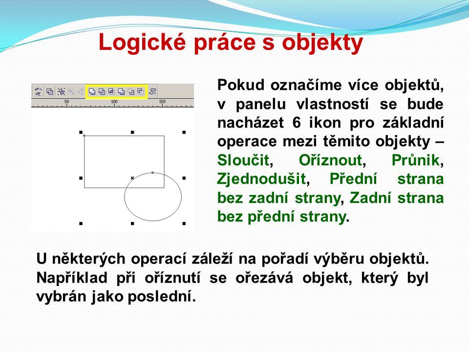 Logické práce s objekty