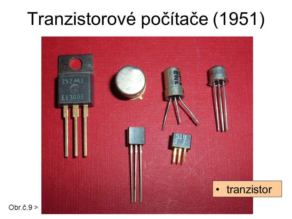 Tranzistorové počítače (1951)