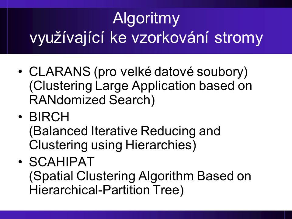 Algoritmy využívající ke vzorkování stromy
