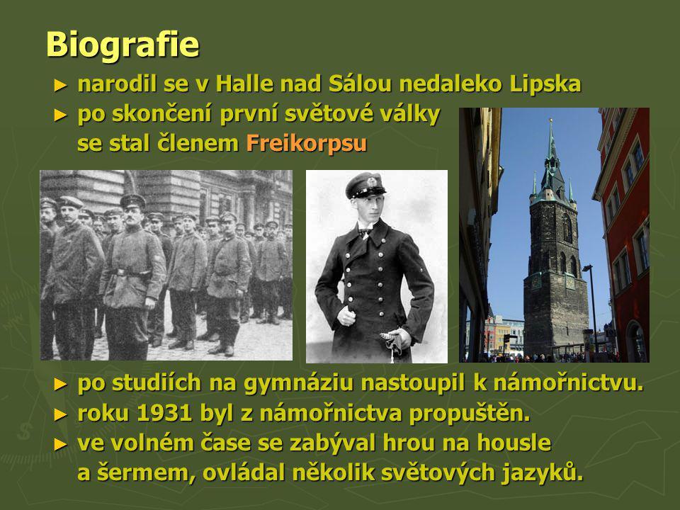 Biografie narodil se v Halle nad Sálou nedaleko Lipska