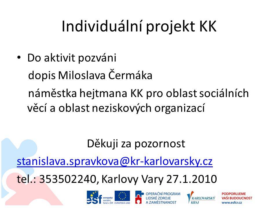 Individuální projekt KK