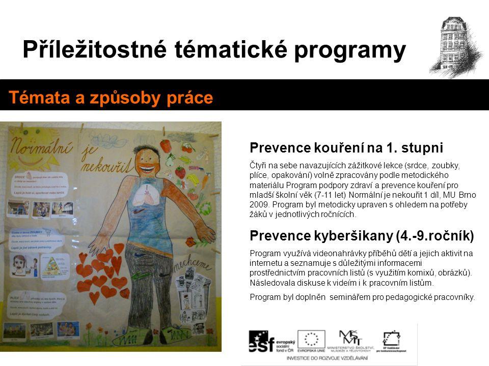 Příležitostné tématické programy