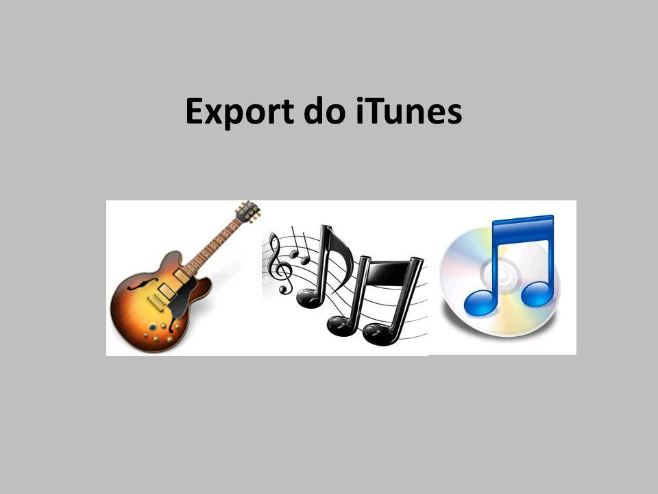 Export do iTunes
