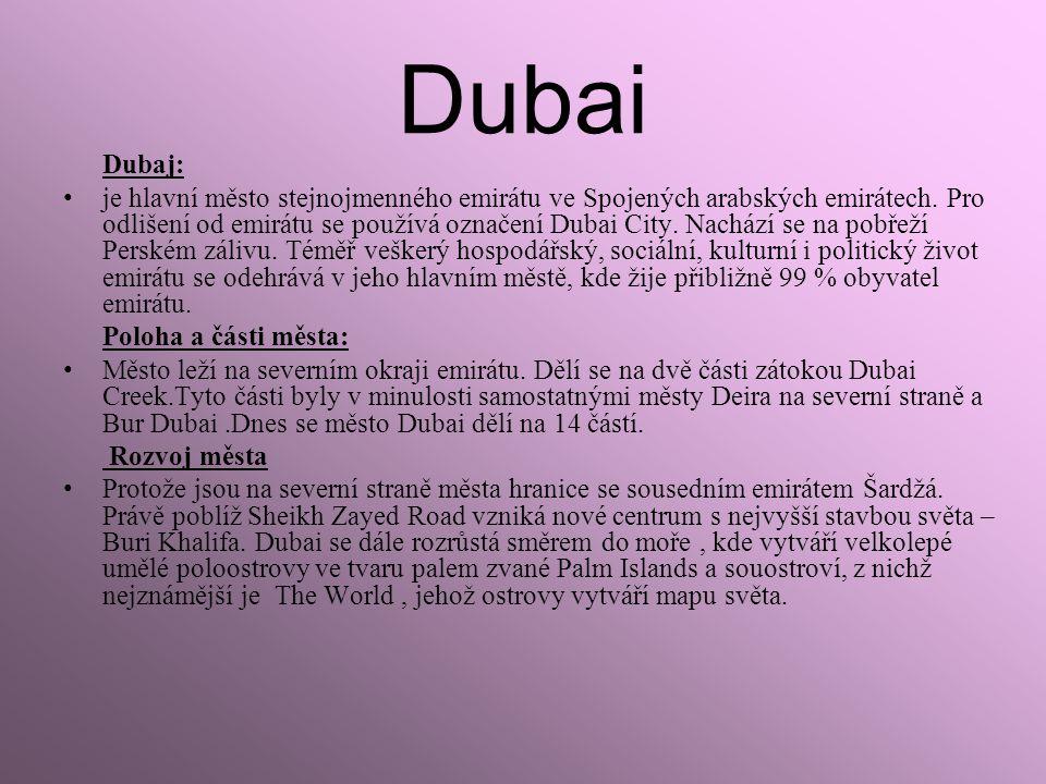 Dubai Dubaj: