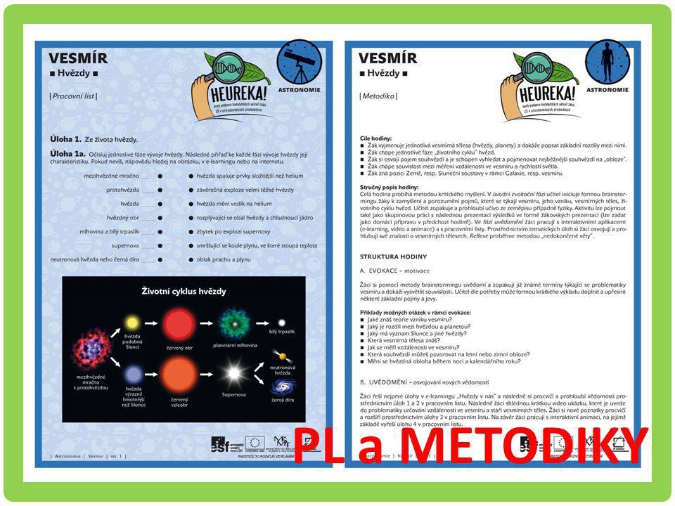 Ukázky PL a metodiky Astronomie - Hvezdy