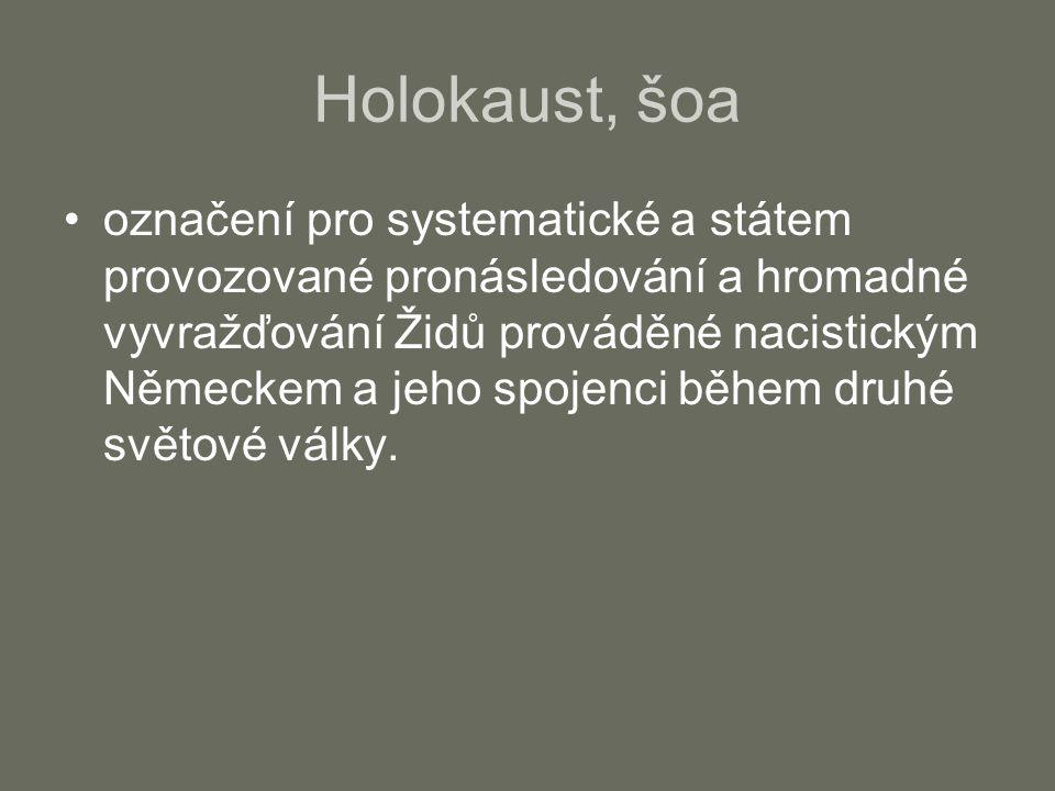 Holokaust, šoa