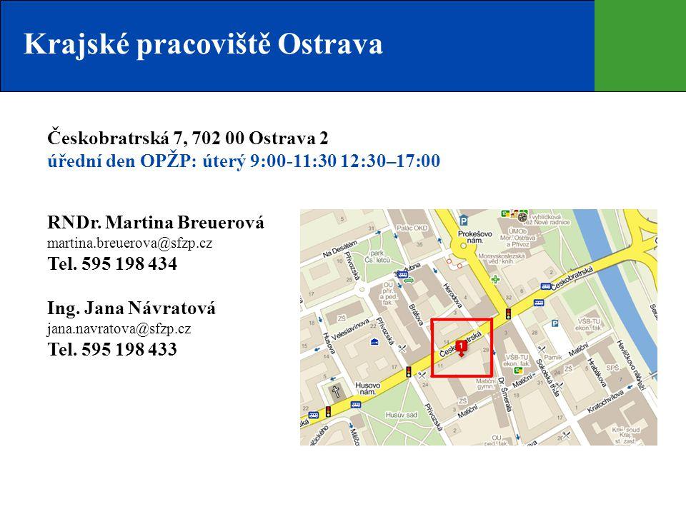 Krajské pracoviště Ostrava