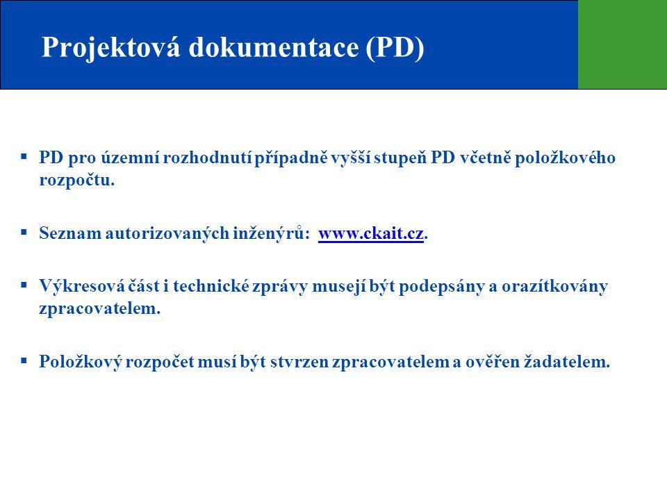 Projektová dokumentace (PD)