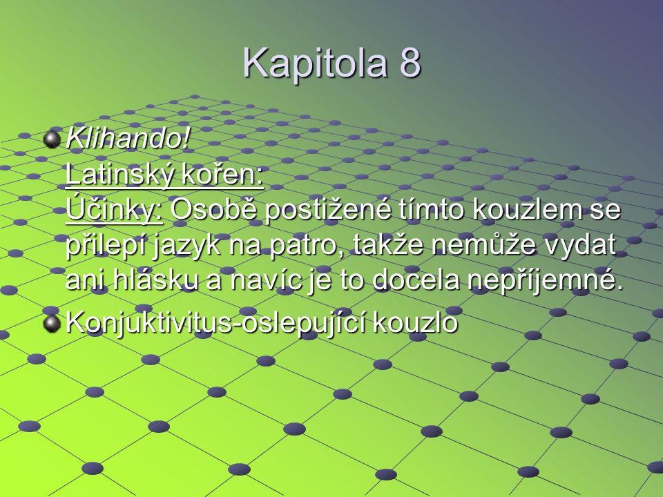 Kapitola 8