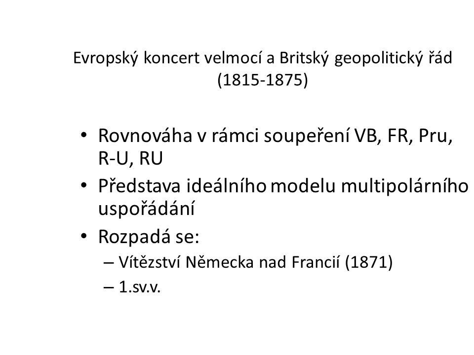 Evropský koncert velmocí a Britský geopolitický řád (1815-1875)