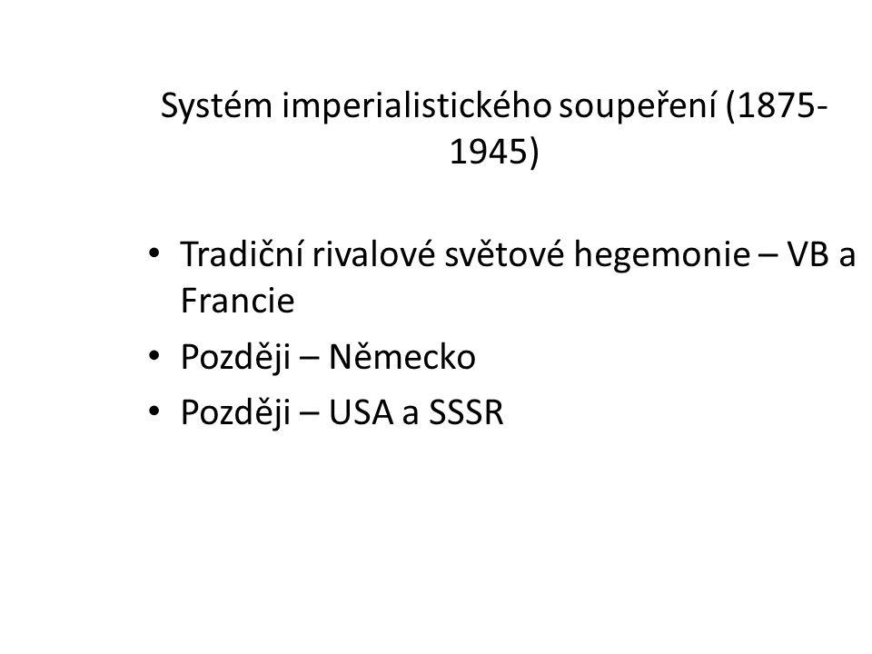 Systém imperialistického soupeření (1875-1945)