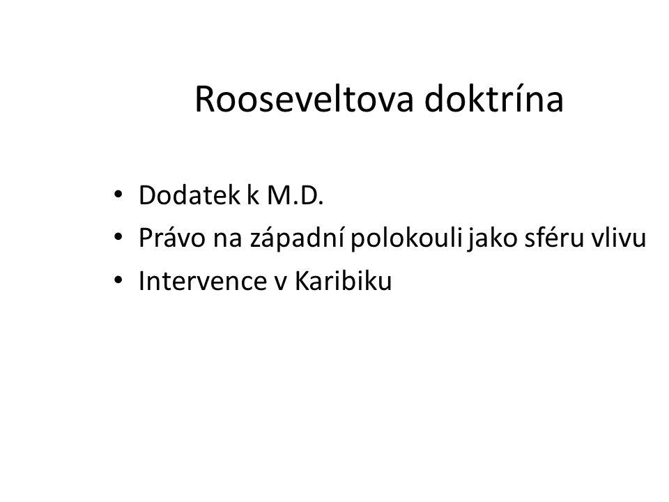Rooseveltova doktrína