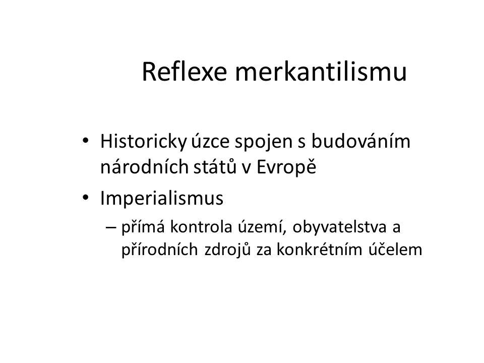 Reflexe merkantilismu