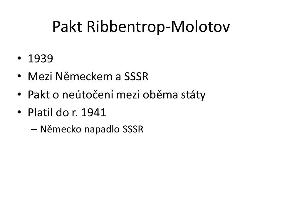 Pakt Ribbentrop-Molotov