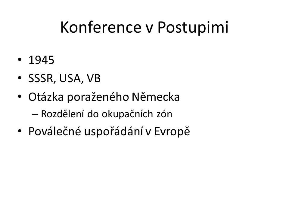 Konference v Postupimi