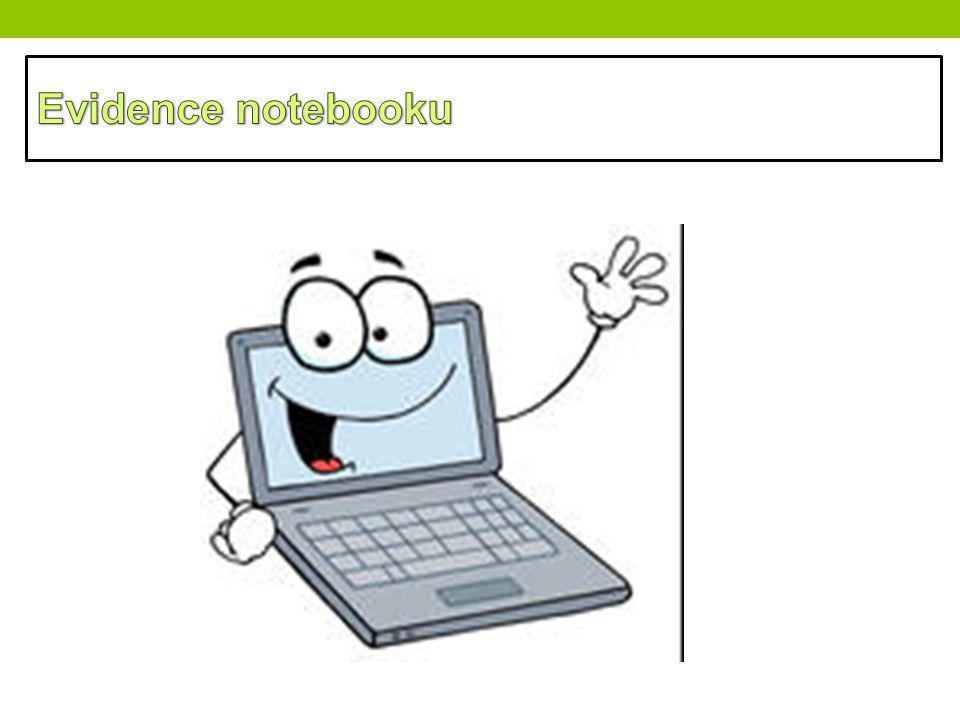 Evidence notebooku