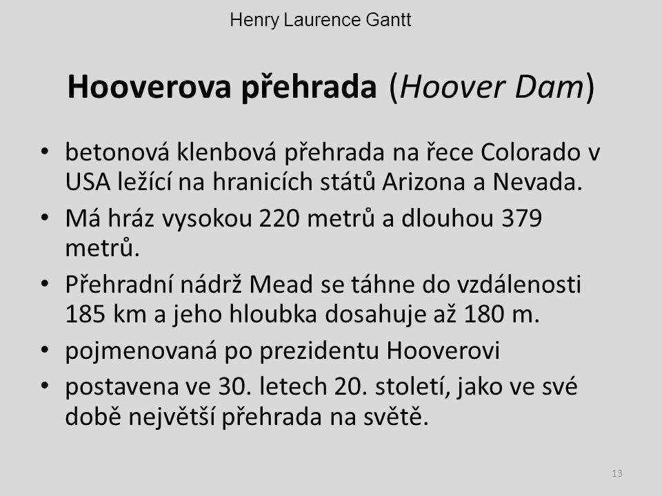 Hooverova přehrada (Hoover Dam)