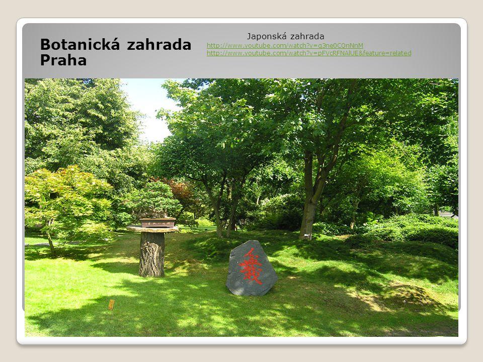 Botanická zahrada Praha