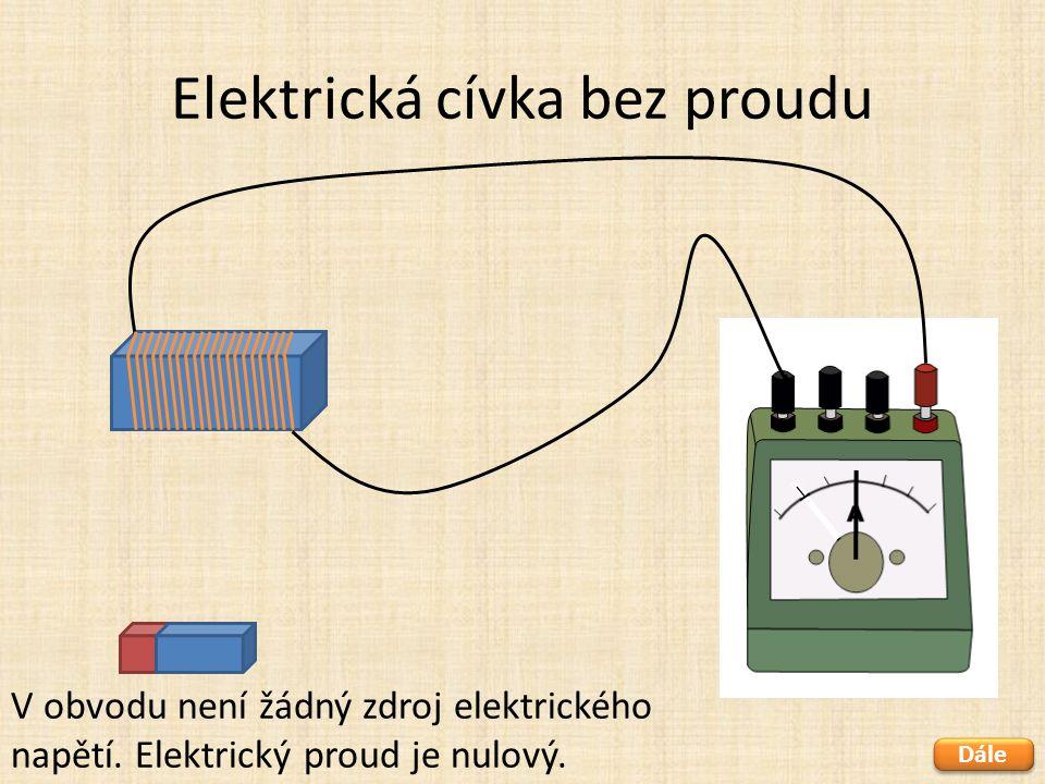 Elektrická cívka bez proudu