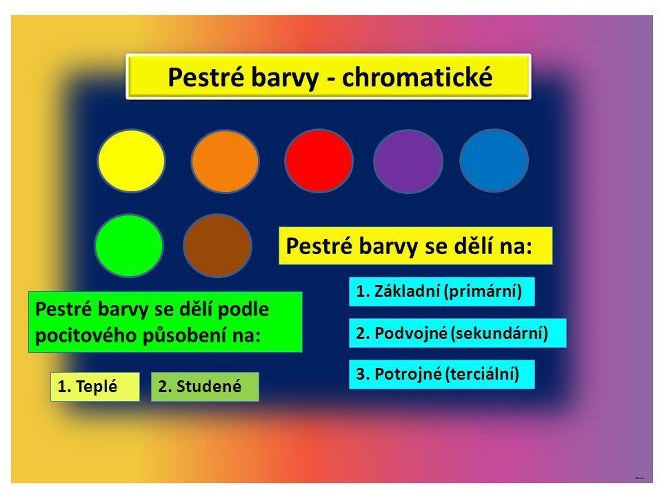 Pestré barvy - chromatické