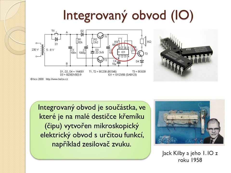 Integrovaný obvod (IO)