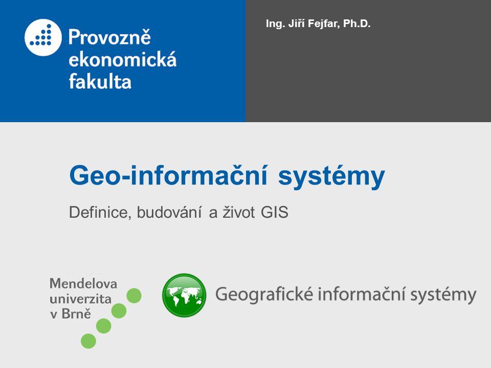 Geo-informační systémy