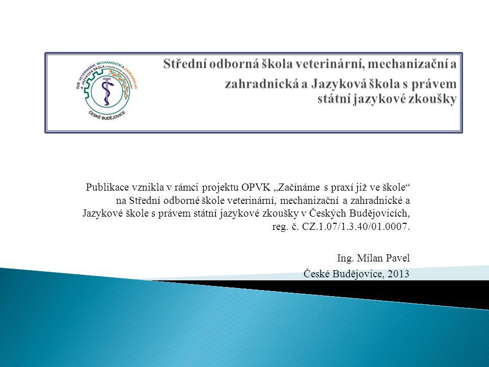 Střední odborná škola veterinární, mechanizační a