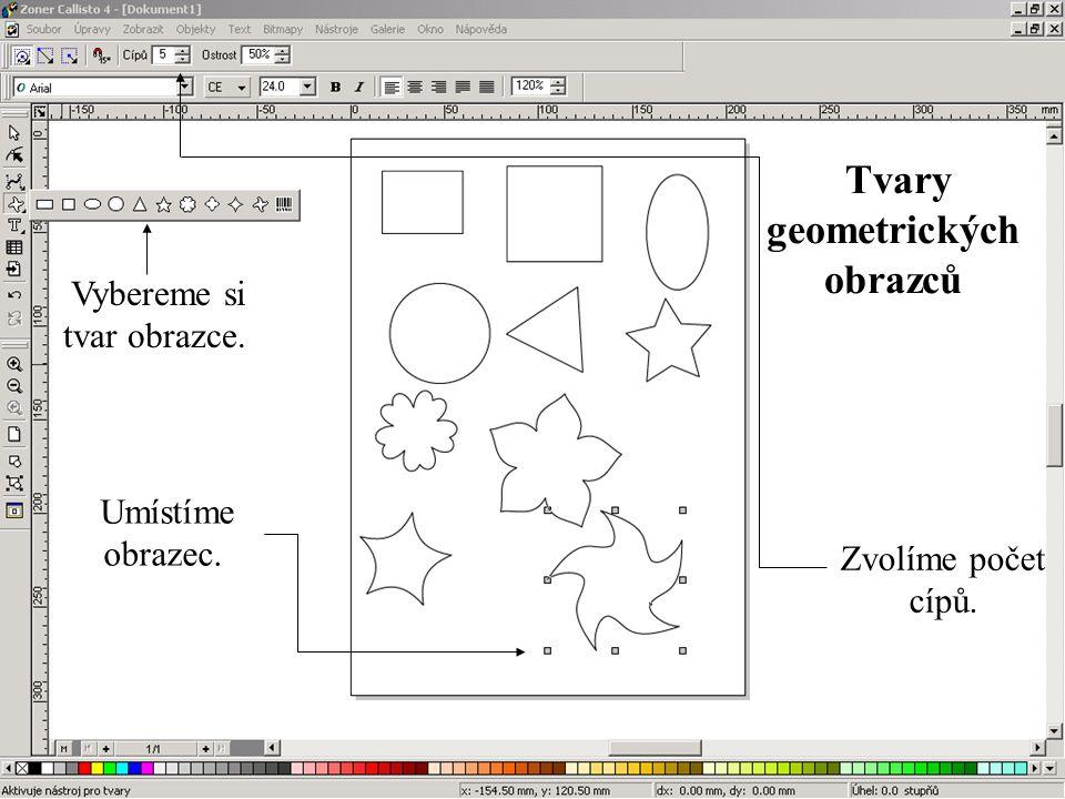 Tvary geometrických obrazců