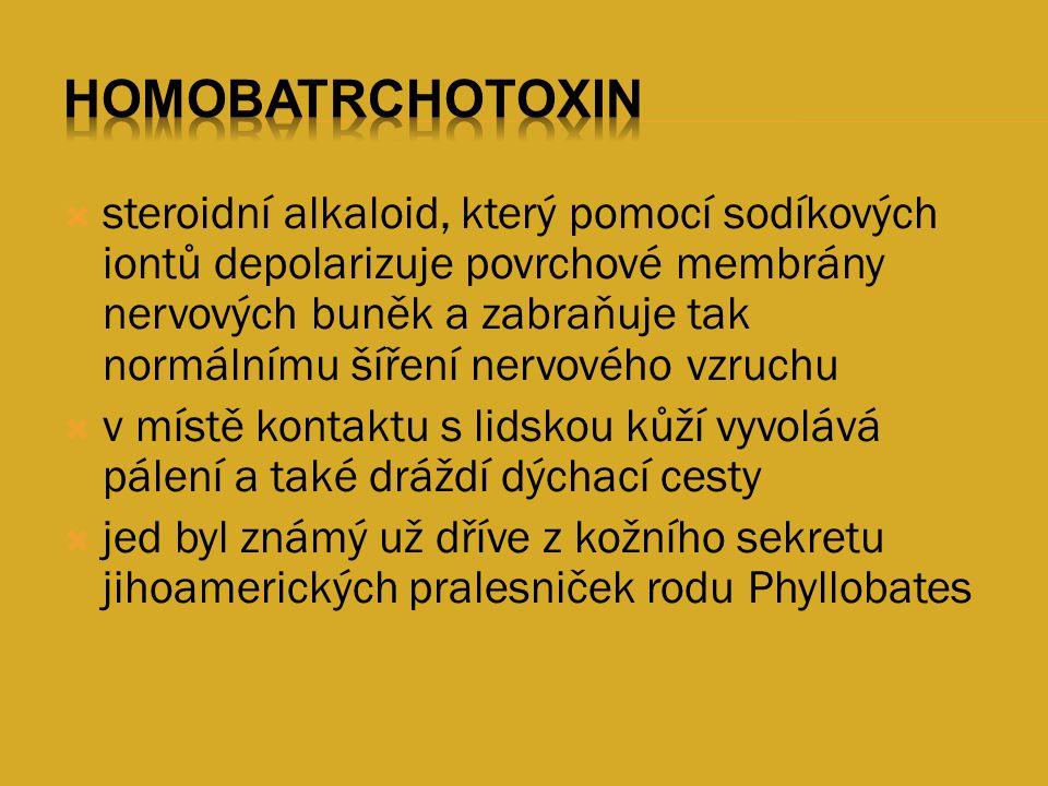 Homobatrchotoxin