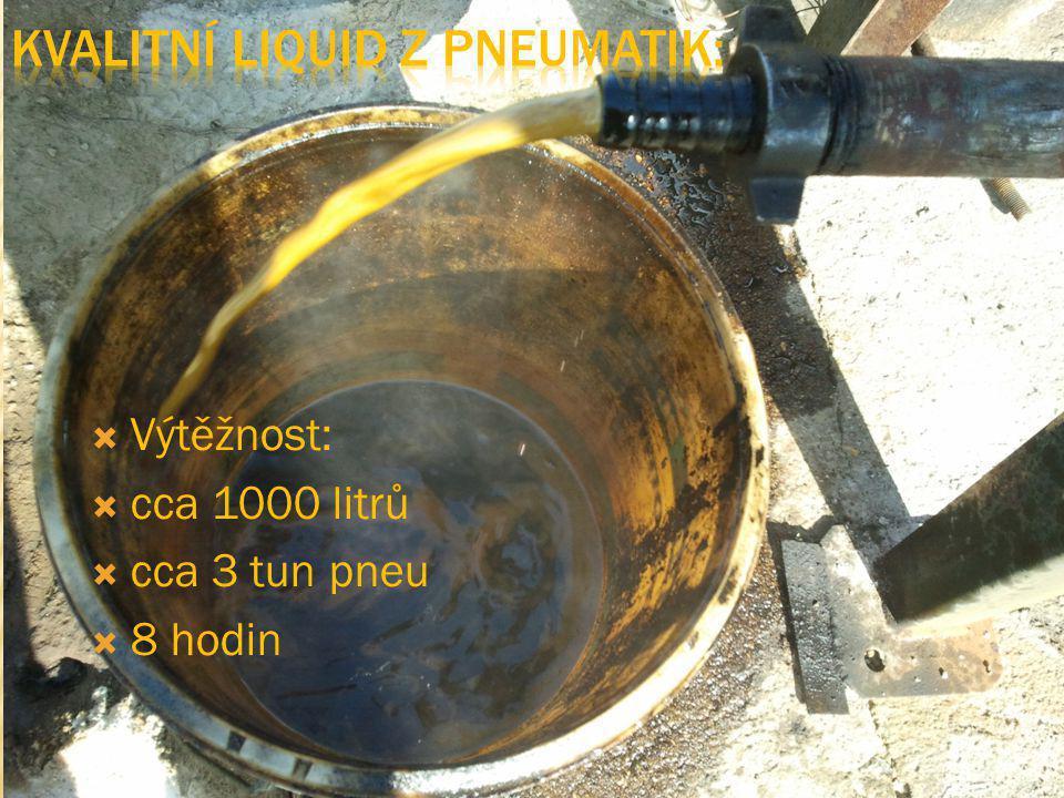 Kvalitní liquid z pneumatik: