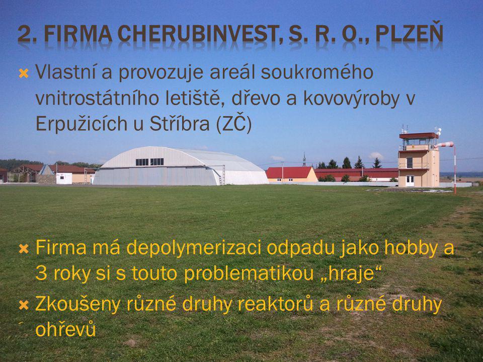 2. Firma Cherubinvest, s. r. o., Plzeň