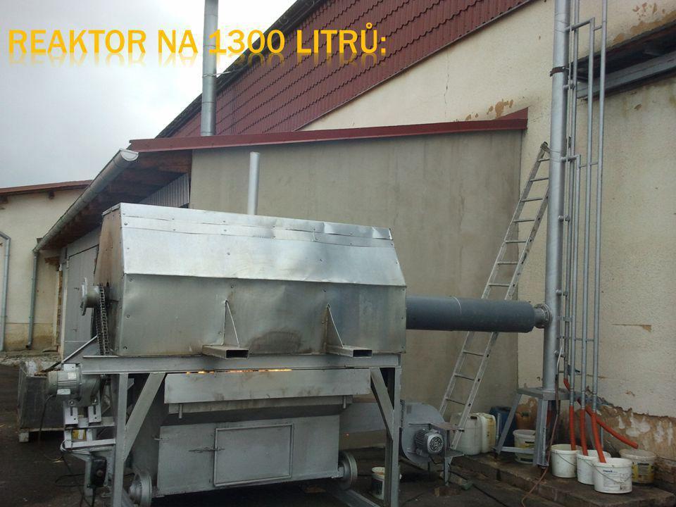 Reaktor na 1300 litrů: