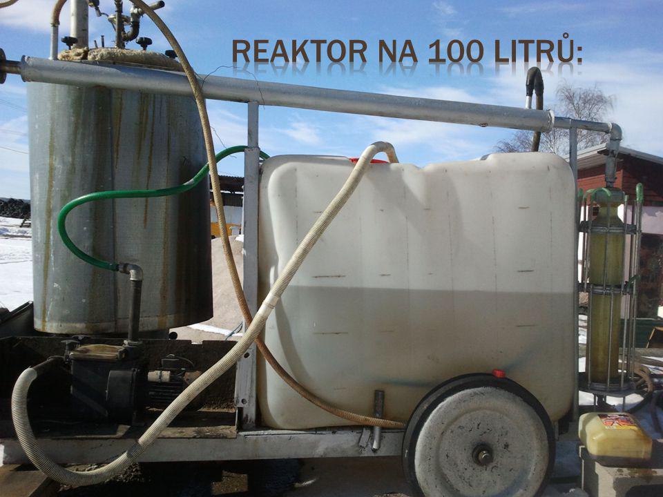 Reaktor na 100 litrů:
