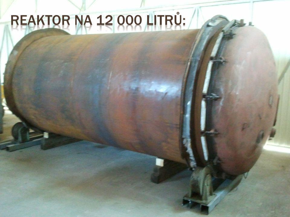 Reaktor na 12 000 litrů: