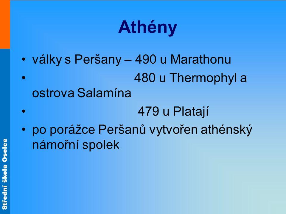 Athény války s Peršany – 490 u Marathonu